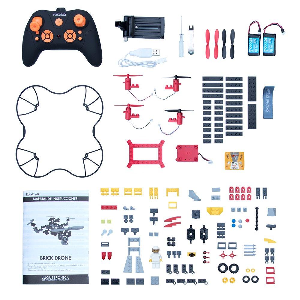 Brickdrone, construye tu propio drone con bloques y vuela: Amazon ...