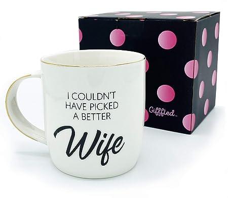 Idee Regalo Di Compleanno Per La Mamma.Gifffted Tazza Da Caffe Per Moglie Regalo Di Compleanno Per Lei