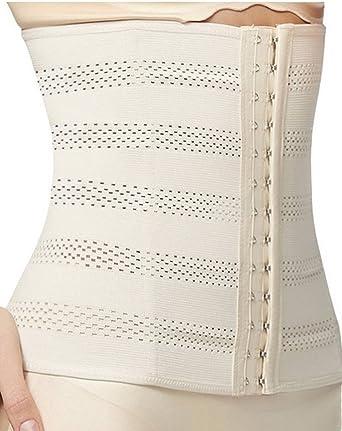 348e92111ff Junlan Waist Glass Trainer Tummy Fat Burner Body Steel Boned Shaper Sport   Amazon.co.uk  Clothing