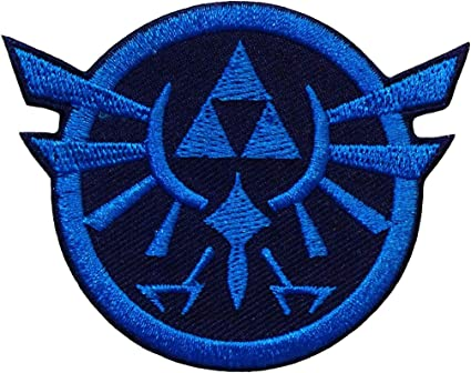 Zelda Pack 3 Iron on Patches