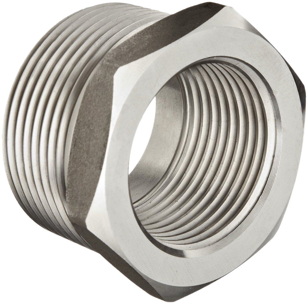 Cheap stainless steel pipe fitting hex head bushing
