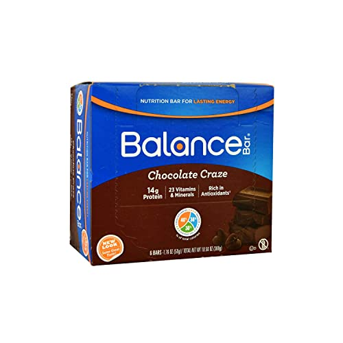 Balance Bar, Bar Chocolate Craze, 1.76 Ounce, 6 Pack