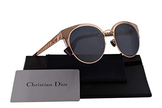 cd6c567e00 Amazon.com  Christian Dior DioramaMini Sunglasses Gold Copper w Blue ...