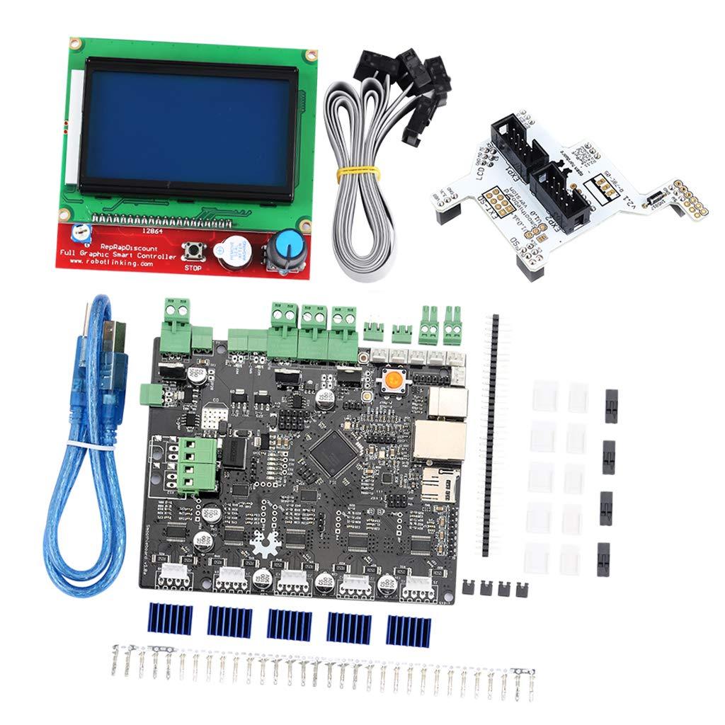 FLAMEER - Kit de Impresora 3D Smoothieboard 5X V1.1 Open Source ...