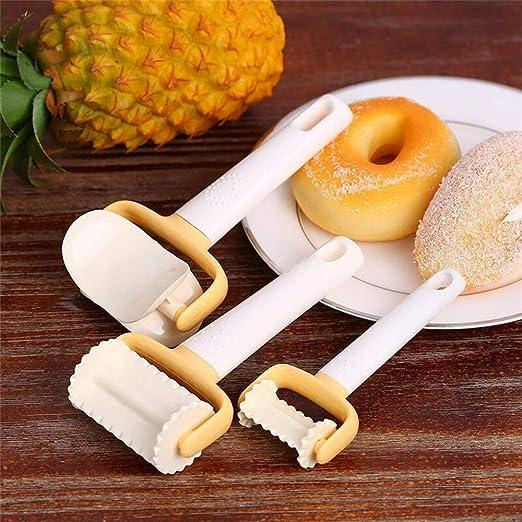 LAIZETONGXUN - Juego de 3 moldes para galletas de cocina ...