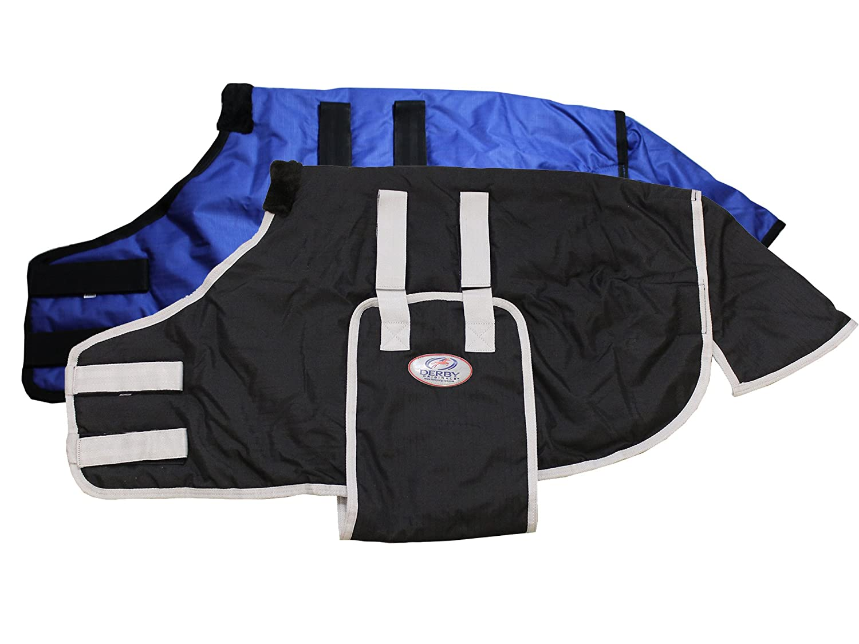 Derby Originals 600D No Hardware Safety Winter Blanket Black Newborn