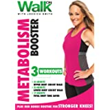 Walk On: Metabolism Booster DVD with Jessica Smith, Walking at Home Plus Total Body Circuit Strength Training for Women and B