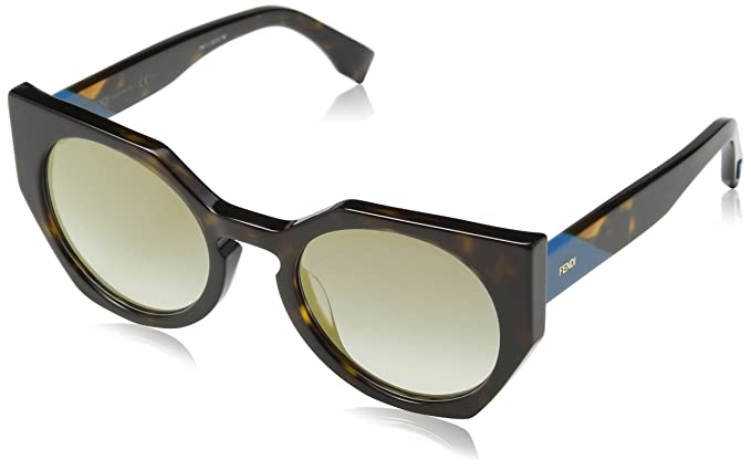 FENDI Fendi Damen Sonnenbrille » FF 0199/S«, braun, 086/HA - braun/braun