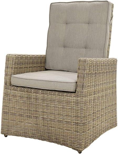 Licht Erlebnisse Lounge Sessel Sarah 73x85x112cm Inkl Polster Polyrattan Gartenmobel Garten Terrasse Balkon Amazon De Garten