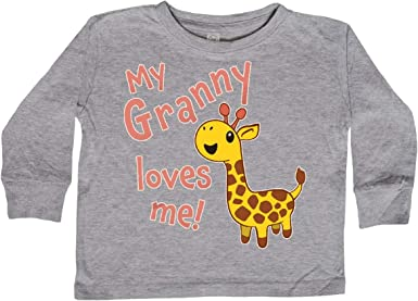 inktastic My Granny Loves Me Toddler T-Shirt