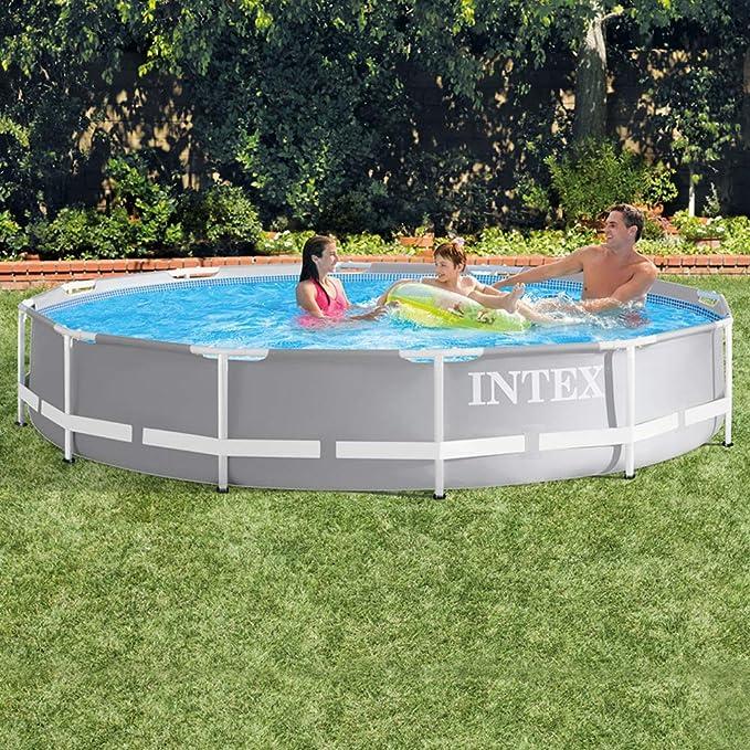 Intex 26710NP Piscina desmontable redonda, con depuradora, 366 x ...