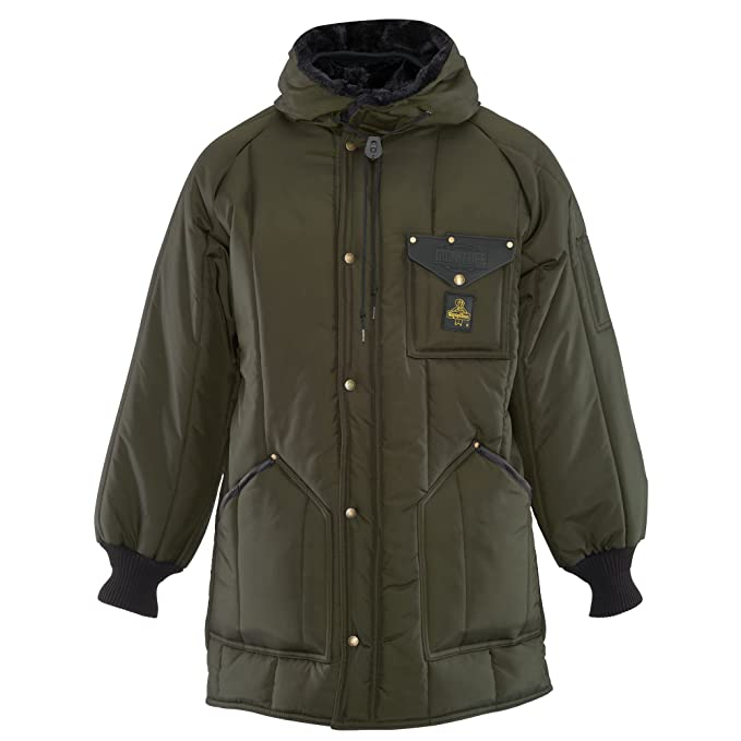 72df5ca8c RefrigiWear Men's Iron-Tuff Ice Parka Water-Resistant Insulated Coat with  Hood