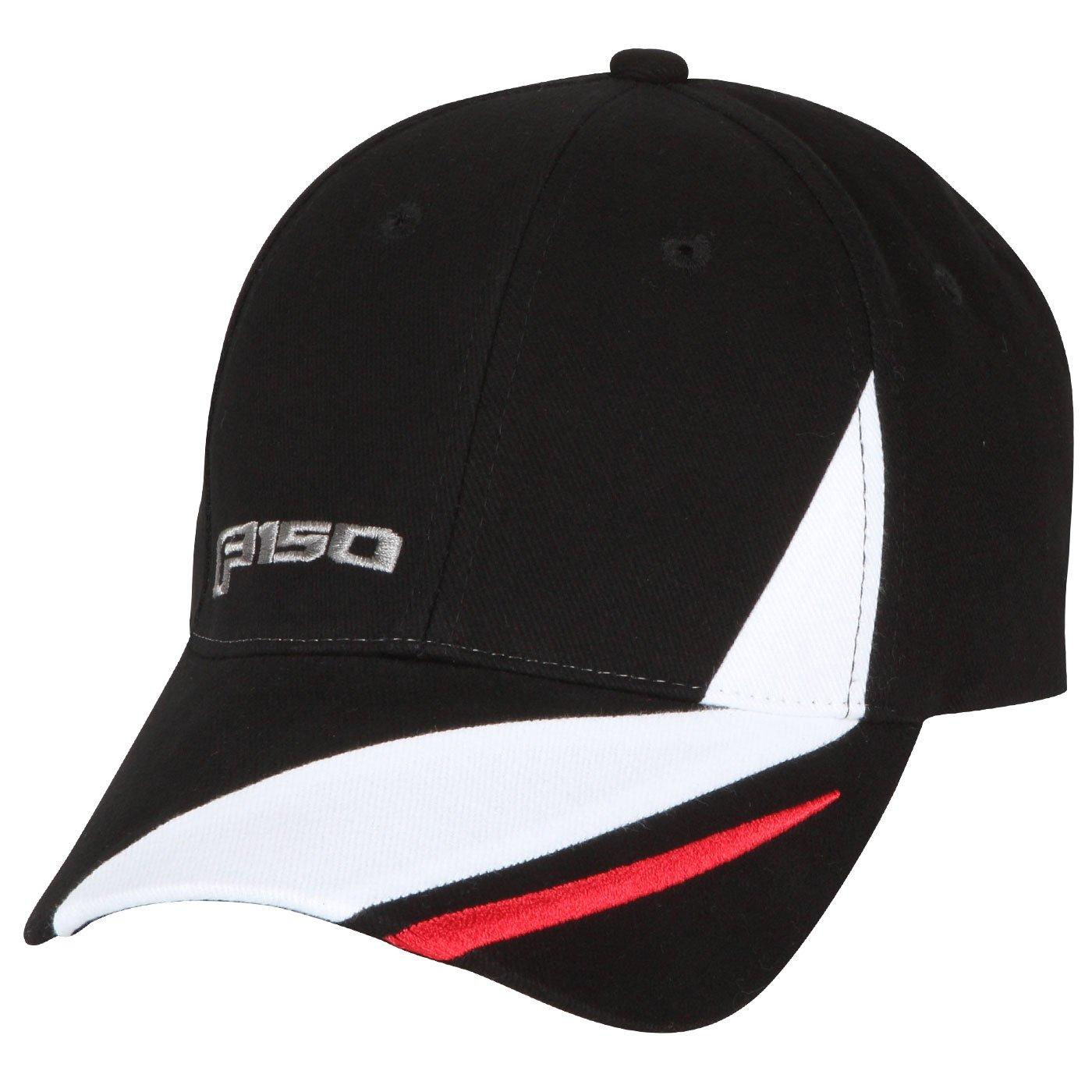 Apparel Ford F150 Black Red White Cotton Hat Interior Accessories