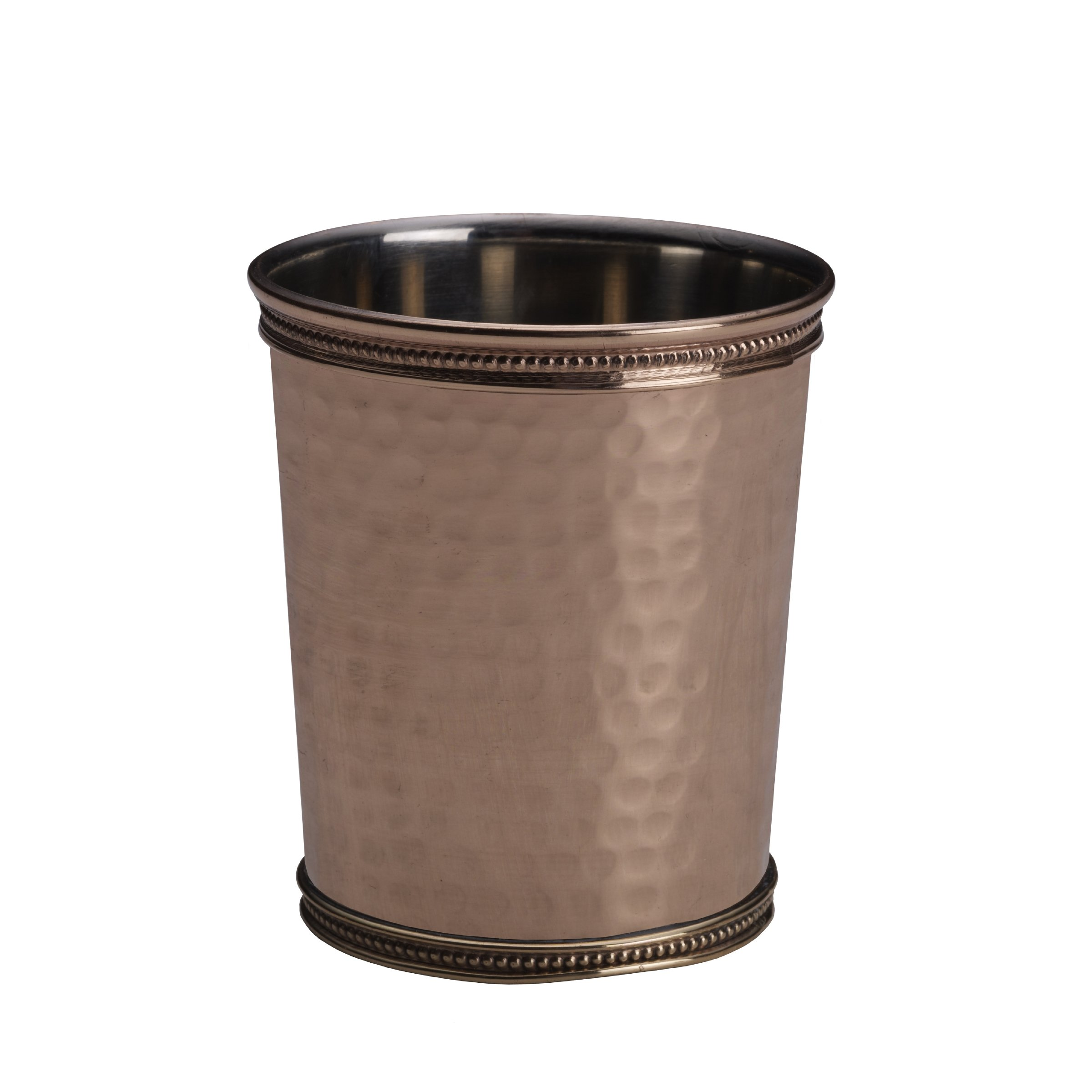 Mikasa Solid Copper Hammered Mint Julep Cup