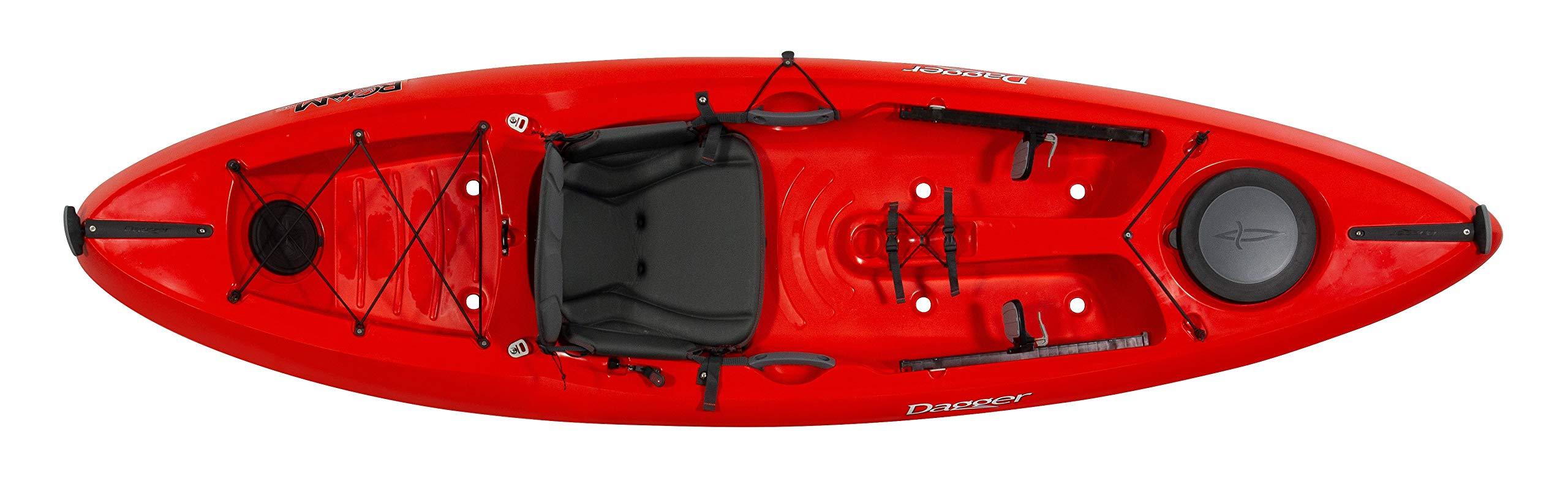 Dagger 2020 Roam 9.5 Recreational Multiwater Sit on Top Kayak by Dagger