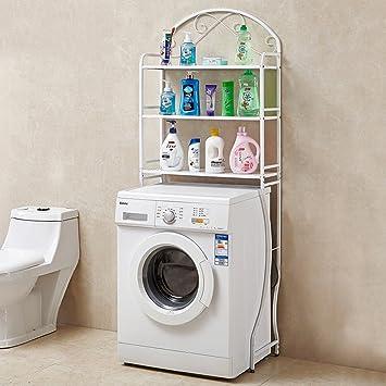 Machine à laver Étagère Étagère Étagère de toilette Étagère de ...