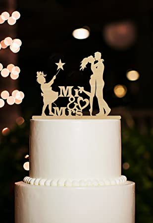 Amazon Rustic Wooden Wedding Cake Toppers Mr And Mrs Wedding