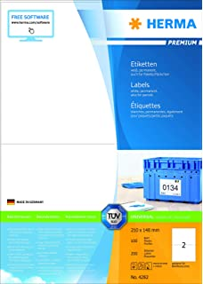 910-300-700 1000 Stk. HAB /& GUT Paket LABEL selbstklebend DIN A5 Adressetiketten DHL