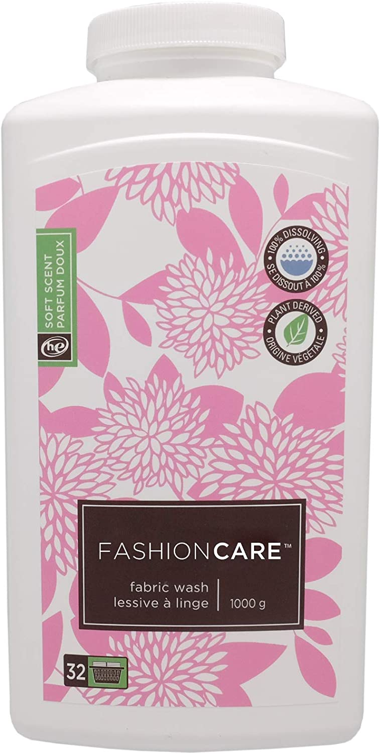 Fashion Care Laundry Detergent Powder Delicate Natural Soft Scented (35 oz)