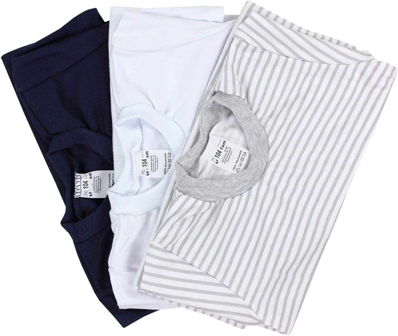 Pack of 3 TupTam Boys Underwear Vests Long Sleeve