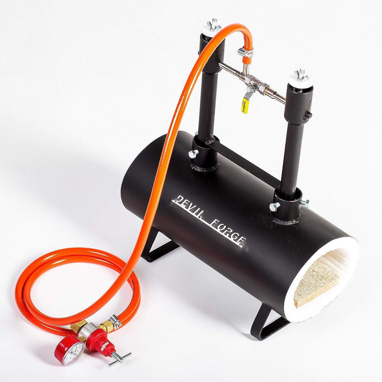 Quemador dual para hacer cuchillos Gas Propane herraduras o quemadores de muebles