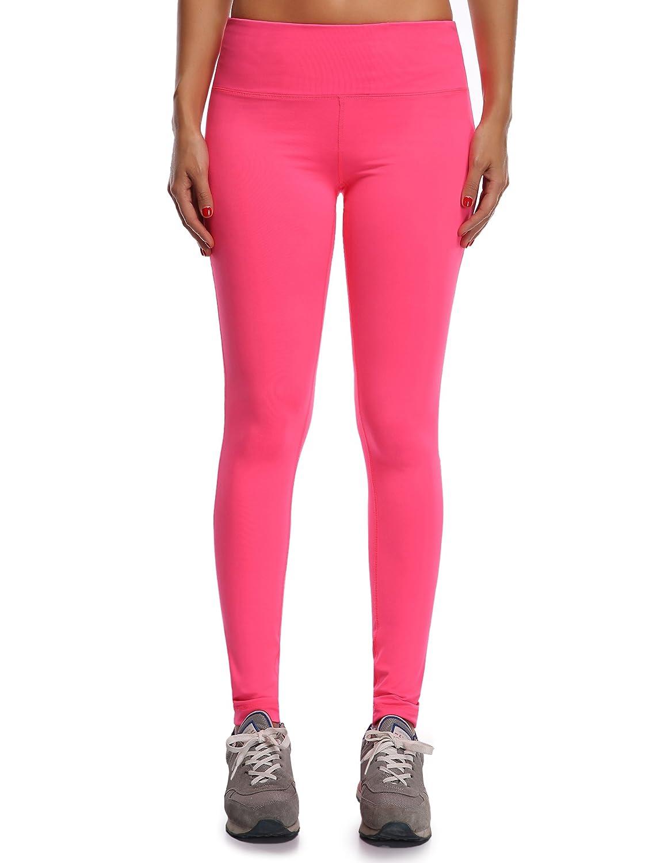 WingsLove Womens Sport Slimming Fitness Running Yoga Capris Flex Leggings Pants W004