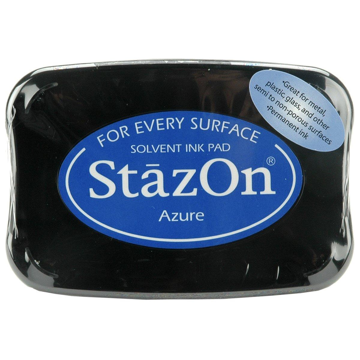 StazOn Tampon encreur solvant SZ-95 Bleu Colorbox SZ000095