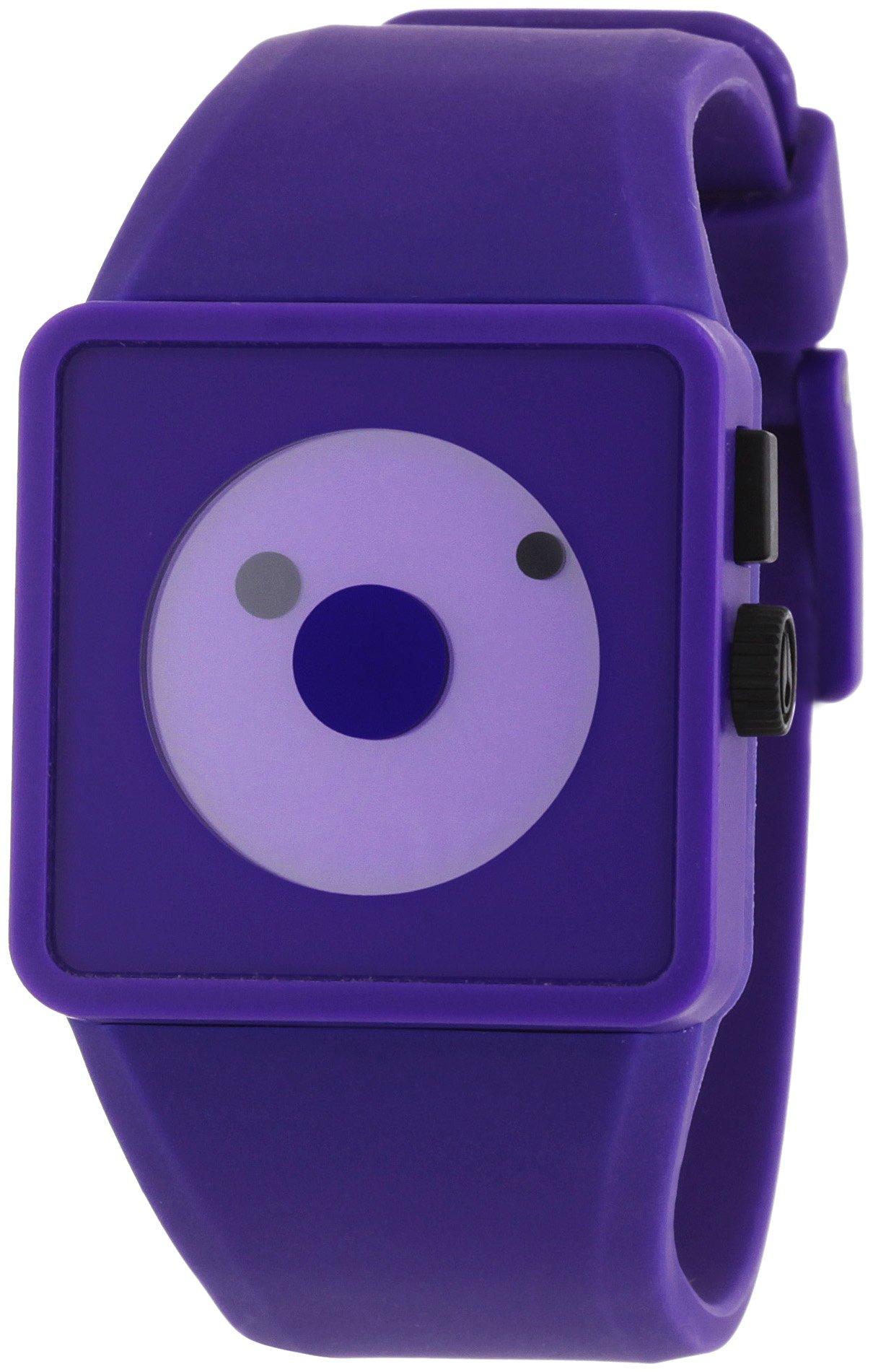 Nixon Men's A116-230 Plastic Analog Purple Dial Watch