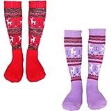 Kalakids Ski Socks Kids 1 Pack / 3 Pack Winter Warm Snowboard Thermal Socks For Boys Girls Toddlers (4-13 Years Kids Xs…
