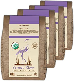 product image for Great River Organic Milling Organic Quinoa Grain, 2 Pound, 4 Count