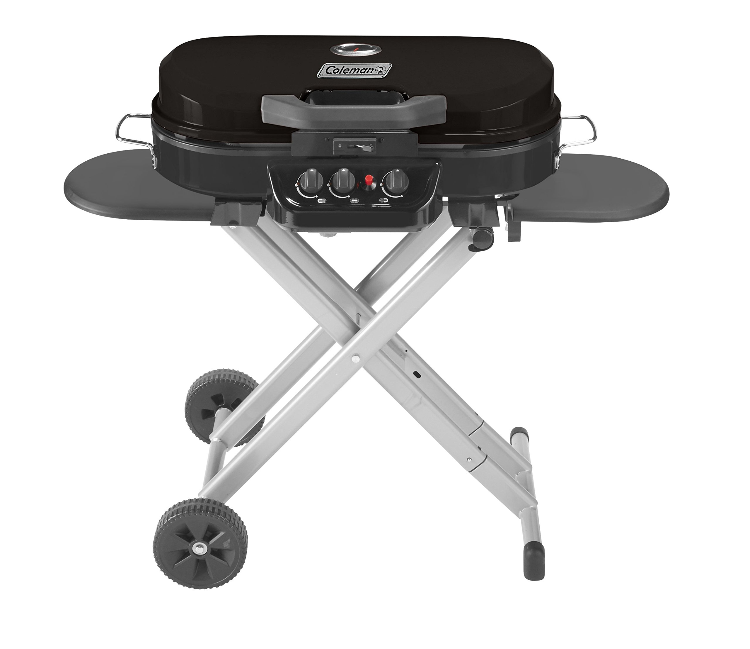 Coleman Gas Grill | Portable Propane Grill for Camping & Tailgating | 285 RoadTrip Standup Grill by Coleman