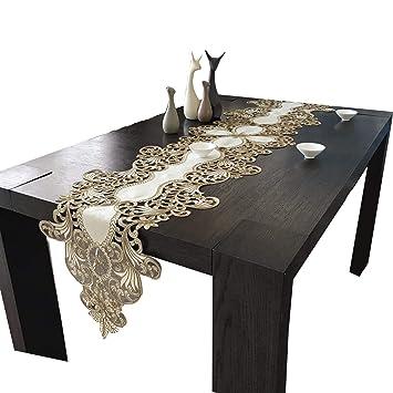 Multi-Table Caminos de Mesa Table Cloth Manteles Elegante Tela Mantel Bordado tapete de Mesa Mueble de TV Toalla de Cubierta: Amazon.es: Hogar