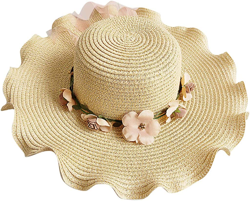GREFER Hats Leisure Straw...