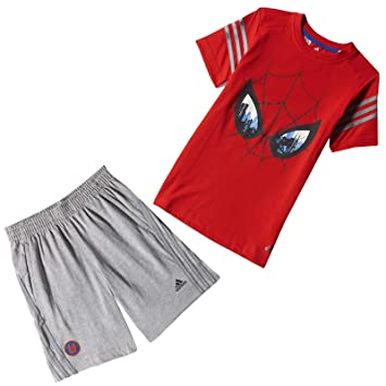 Garçon Ensemble Adidas Bébé Disney Sports Short T Shirt BxH4wp