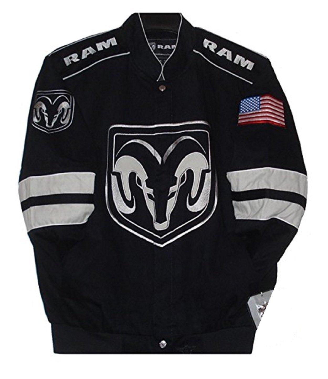Dodge Ram Embroidered Cotton Twill Jacket Size 2XLarge