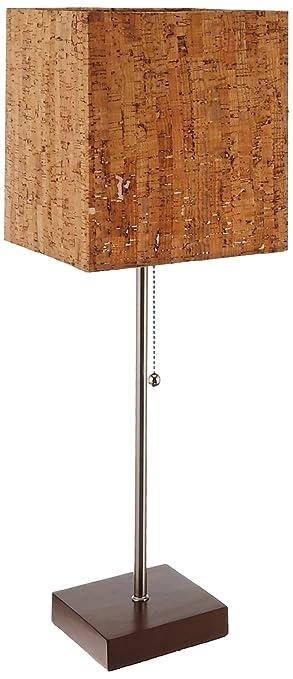 Elegant Adesso 4084 15 Sedona 21.5u0026quot; Table Lamp, Smart Outlet Compatible