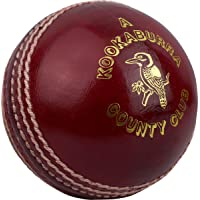 Kookaburra County Club - Pelota de críquet (hombres, jóvenes, mujeres)