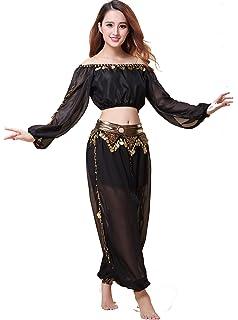 383e33ca2 Amazon.com: Athena YY Belly Dancer Costumes Bollywood Dancer Costume ...