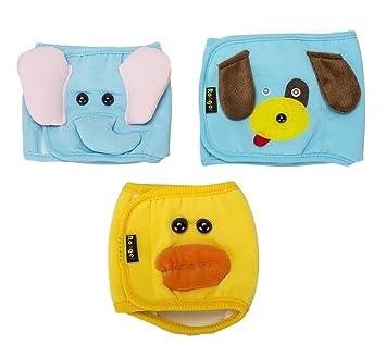 Perros Unido 3pcs Fashion Lovely de perro de cachorro de vientre Banda pañales reutilizables para pequeñas