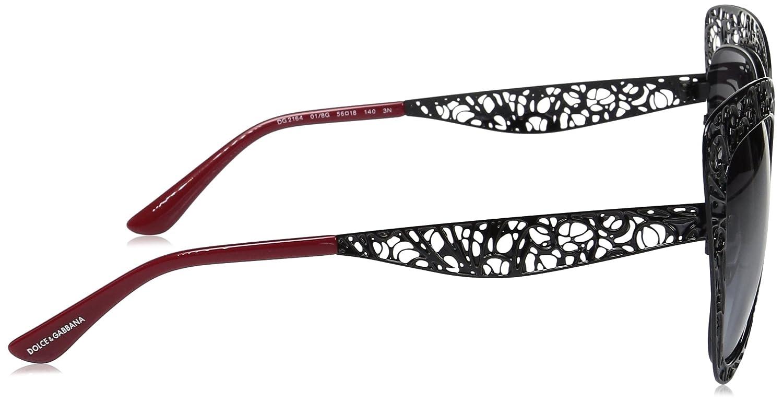 388c1719ef9 Amazon.com  Dolce   Gabbana Women s Metal Woman Sunglass Square ...