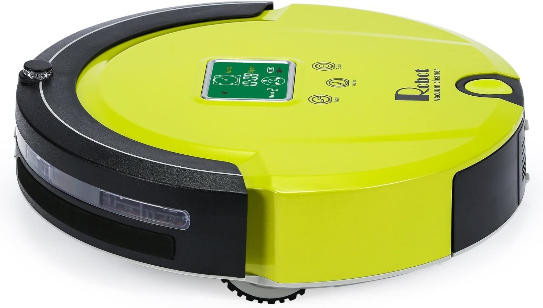 Amtidy A320 Aspirateur Robot, Vert: : Cuisine & Maison