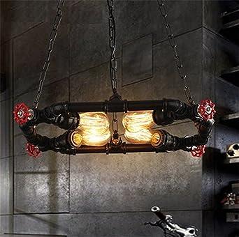 Cwill Nordic Loft Style Metall Wasserpfeife Lampe Edison Anhänger ...