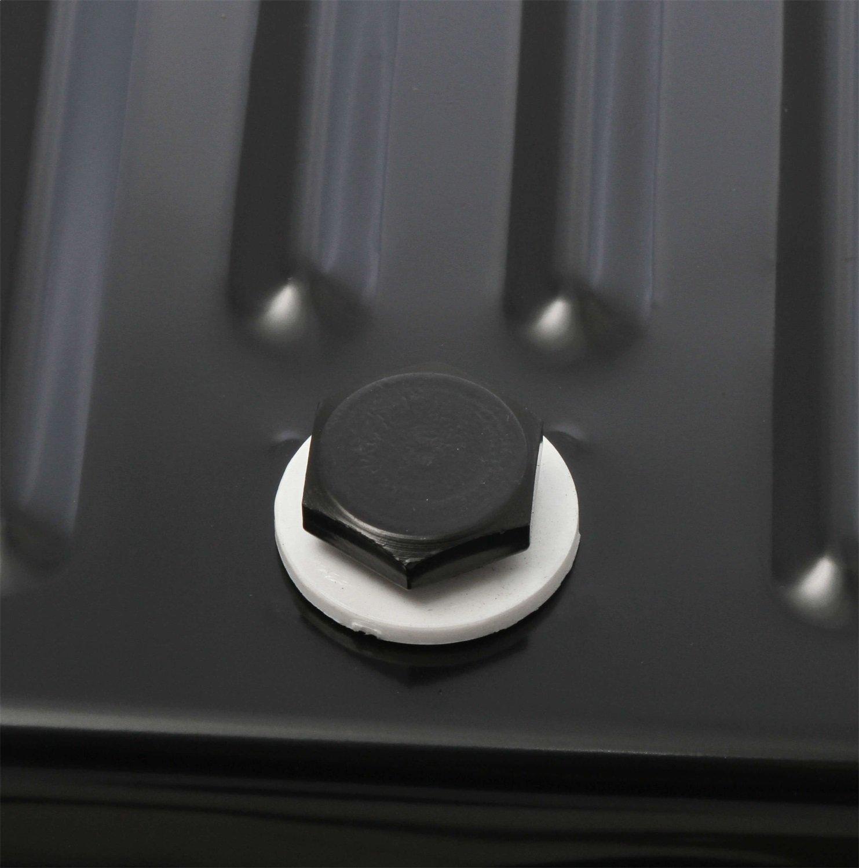 MR GASKET 9755BMRG Black Automatic Transmission Oil Pan Ford C4