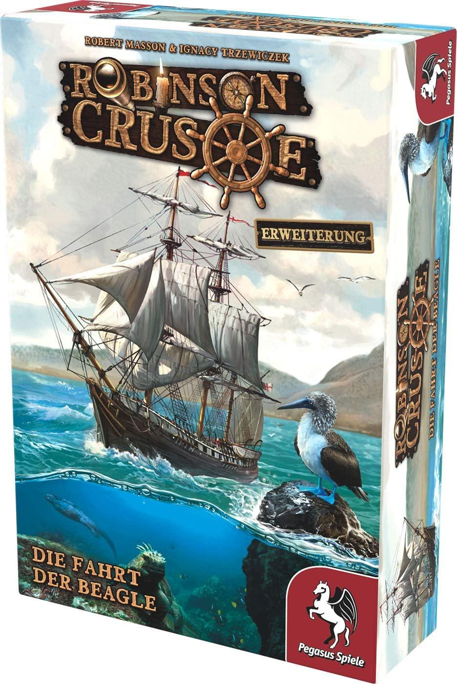 Die Fahrt der ... Insert Für Robinson Crusoe und Erweiterung