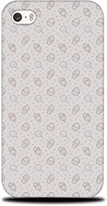 Foxercases Design (2020) #1 Food ICE Cream & Candy Pattern Hard Phone Case Cover for Apple iPhone 4 / 4S