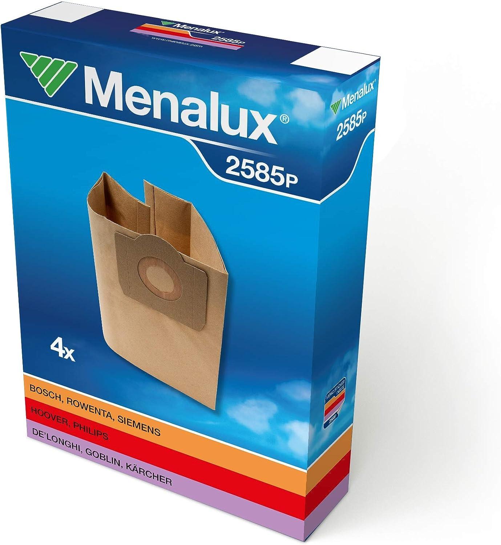 Menalux 2585 P - Bolsas para aspiradoras Siemens, Bosch, Fakir ...