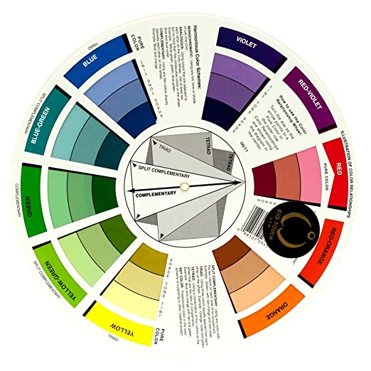 Amazon BioTouch Permanent Makeup COLOR WHEEL Accessory Tools Chart Bio Touch Mix Guide Chemical Hair Dyes Beauty