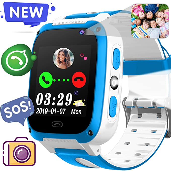 Amazon Com 2019 New Kids Game Smart Watch Phone Birthday Holiday