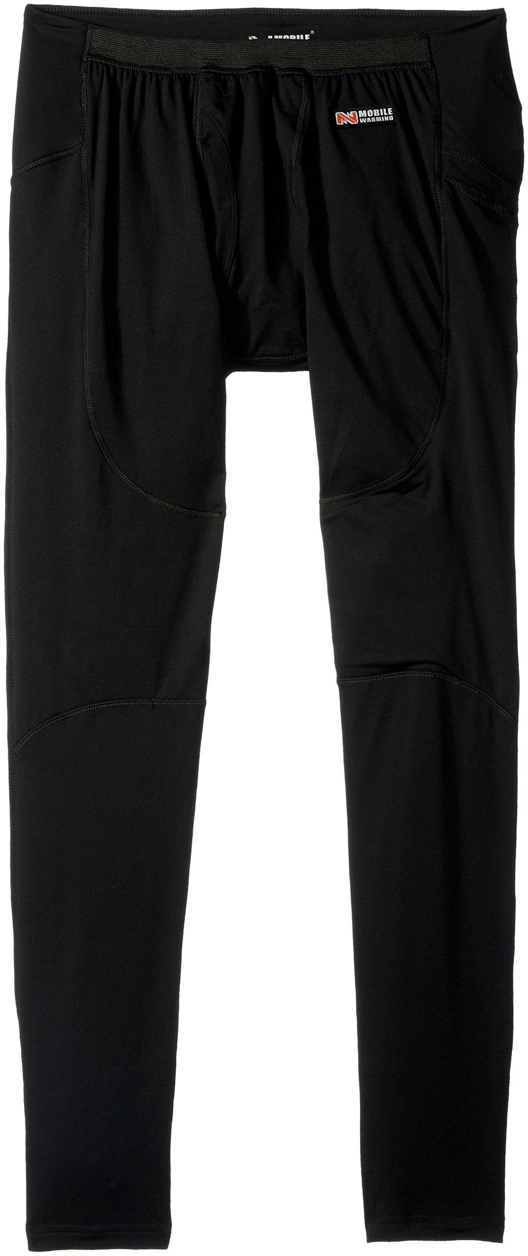 MOBILE WARMING Longment Heated Base Layer Pant (Large, Black)