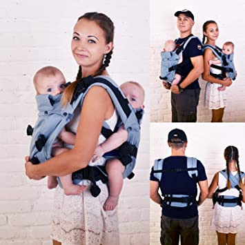 twin baby backpack